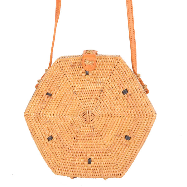 Hexagon Ata Sling Bag