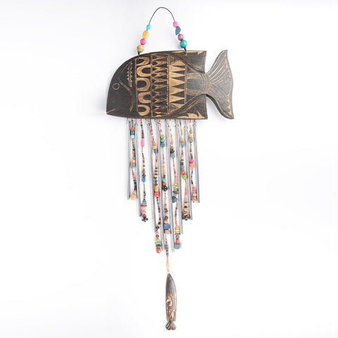 Wooden Fish Wind Chime