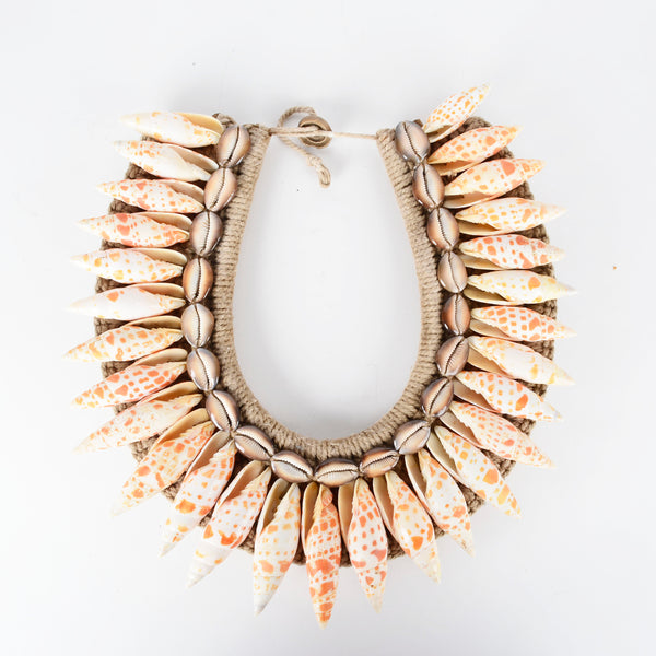 Timor Tribal Shell Necklace - Design D