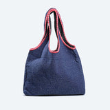 Stitch reversible Bag