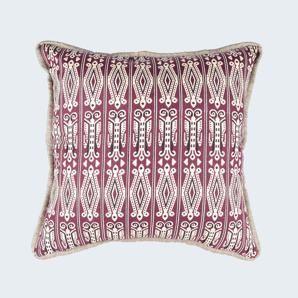 "Borneo Cushion Cover - Design B (20""x 20"")"