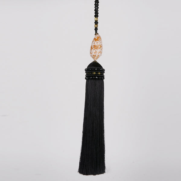shell tassel - design d