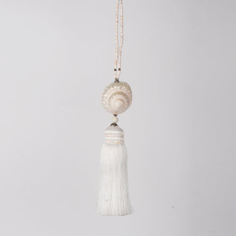 Shell tassel - design P