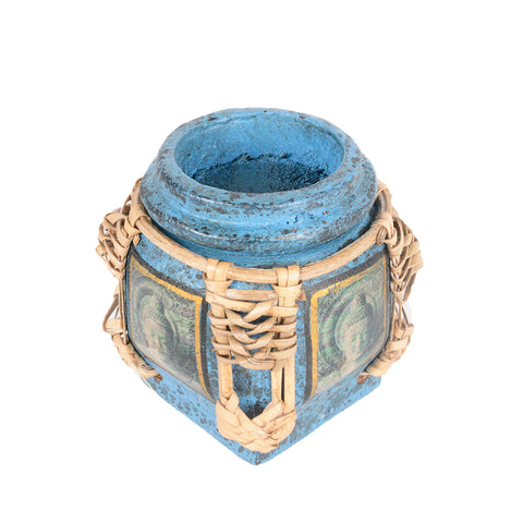 Candle Holder - Blue
