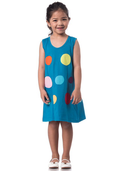 Polkadot Patchwork Dress
