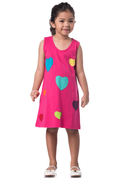 Heart Patchwork Dress