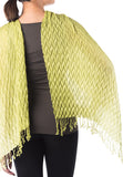 Pearl Shawl - Light Green