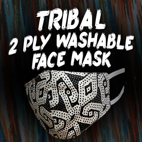 Tribal 2 Ply Washable Face Mask