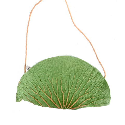 Thai Rubber Note - Lotus Sling Bag (Design 1)