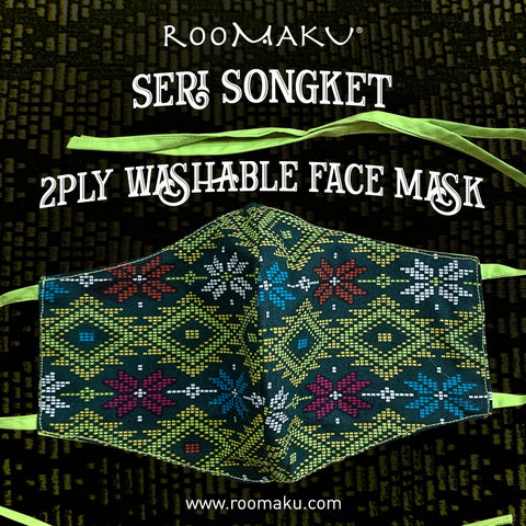 Seri Songket 2 Ply Washable Face Mask