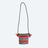 Tribal Pleated Saddle Bag