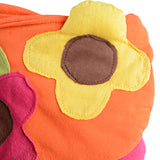 Kids Flower Sling Bag - Orange