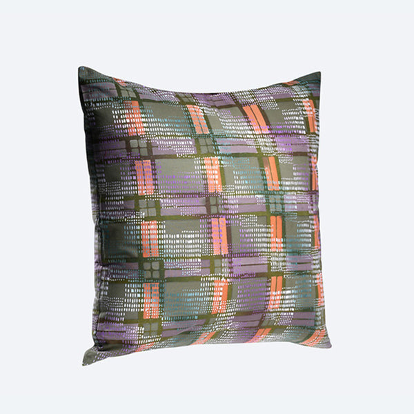 Batik Block Cushion Cover - Design 2