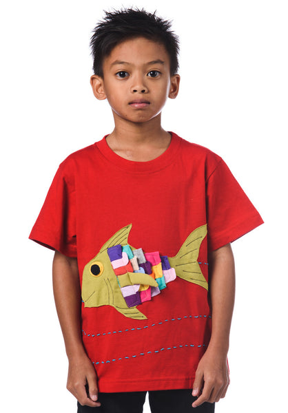 Fish Patchwork T-Shirt