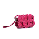 Leather Pouch - Pink