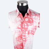 Batik Short Sleeve Shirt - Design 9