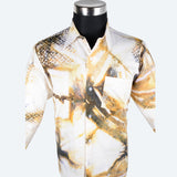 Batik Long Sleeve Shirt - Design 7
