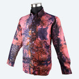 Batik Long Sleeve Shirt - Design 8