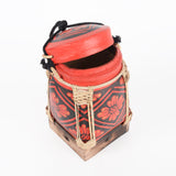 Bamboo Decorative Basket Box Small - Design 1