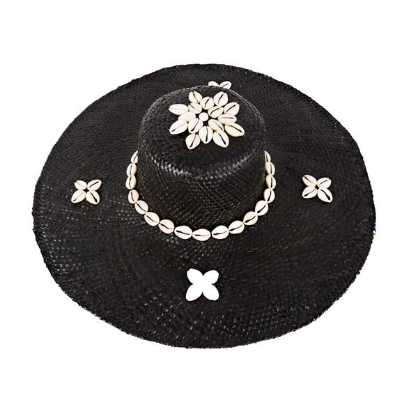 Straw Hat With Shell