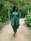 Fiza -Teal Green