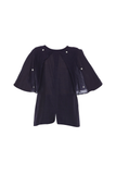 Piao - Navy Blue Top