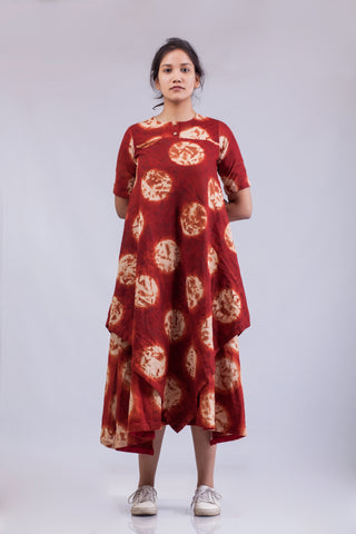 Red Moon - Layered Dress