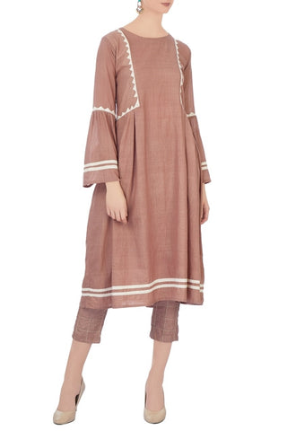 Abenaki - Nude Blush Dress