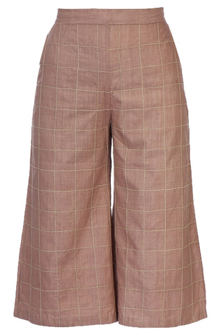Culotte Pants – Nude Blush