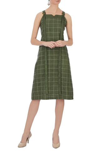 Fox - Olive  Green Dress