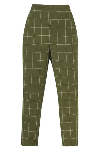 Straight pants - Green