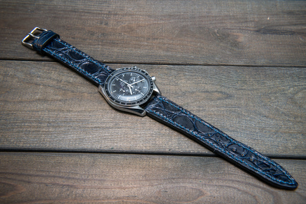 Luxury exotic masterpiece on your wrist or alligator leather watch straps