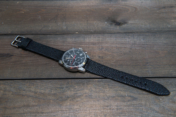 Magnetic stingray leather for everlasting watch straps