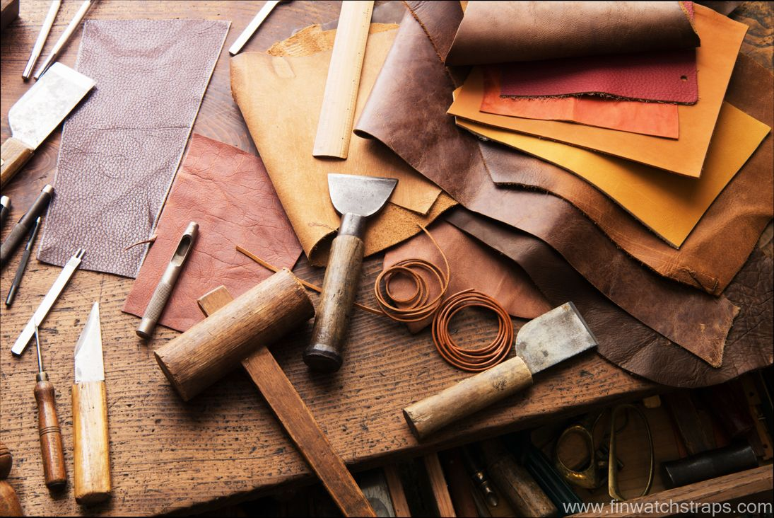 About Horween leather we use in production of our handcrafted leather watch bands