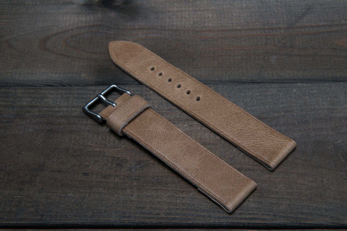 CAMEL LEATHER WATCH BANDS