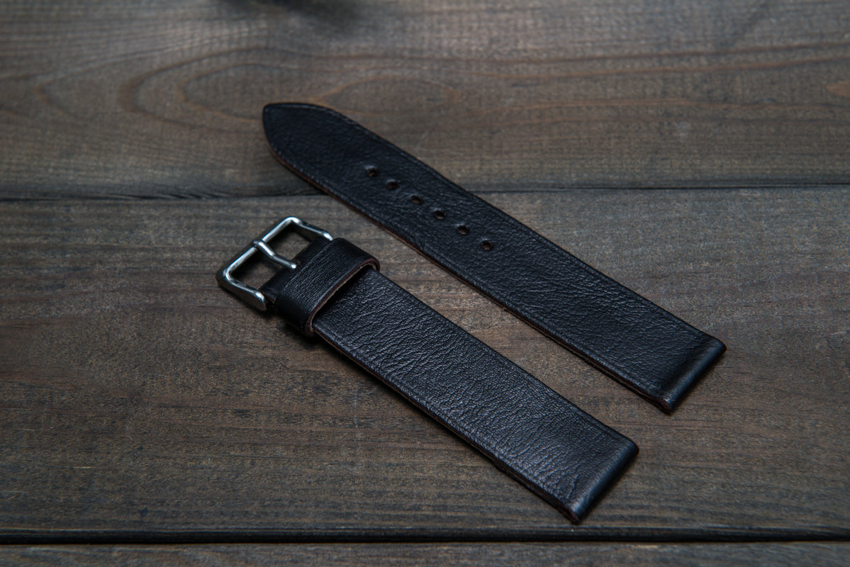 Kangaroo leather watch bands