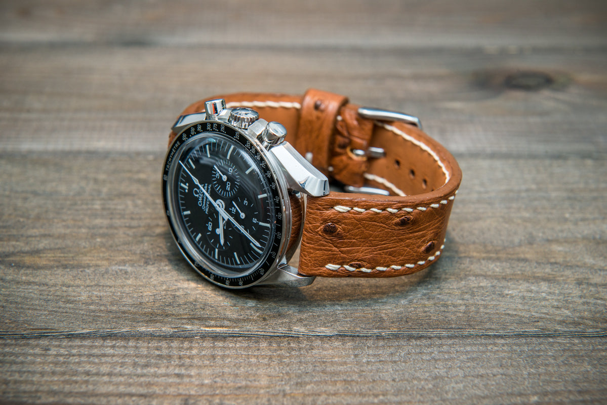 Exotic leather watch straps
