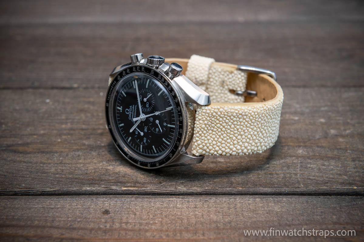 Stingray leather straps