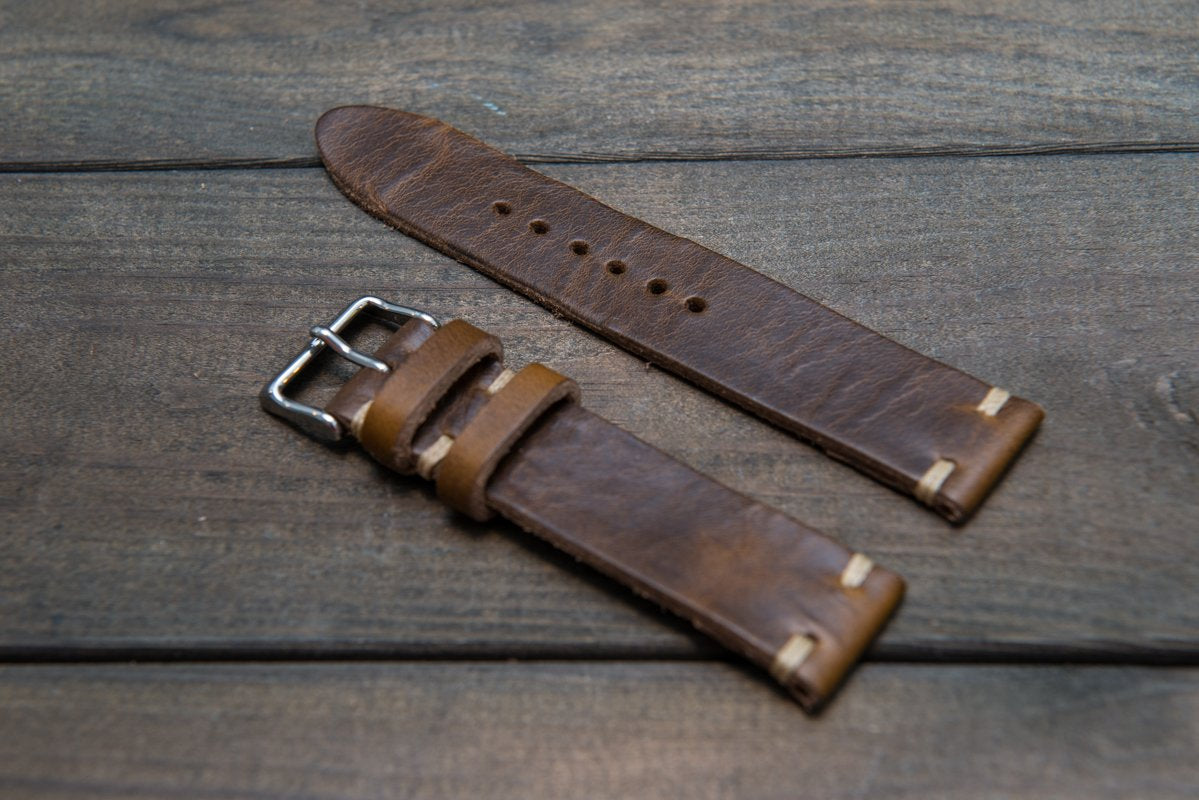 2 leather loops model, 10 mm - 26 mm