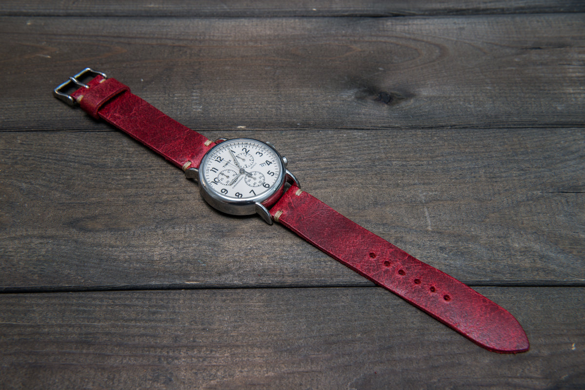 Vintage suede watch bands