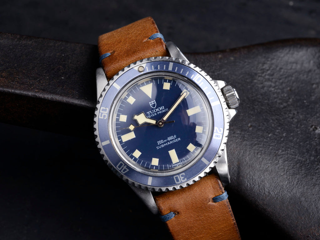 tudor, tudor watch, tudor with leather band