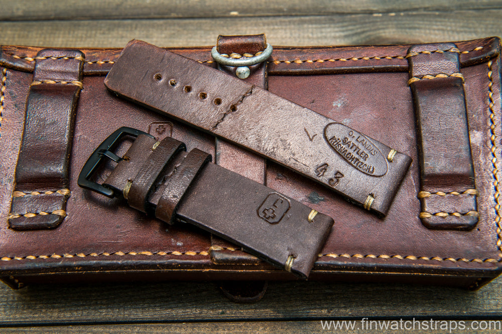 Vintage Swiss Ammo Watch band, dates back to 1930th-1960th - finwatchstraps