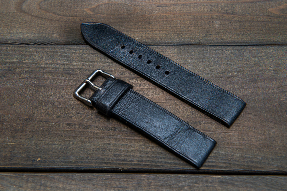 Suede vintage leather watch strap (Crazy Cow), handmade in Finland -14 mm, 15 mm, 16mm, 17 mm, 18mm, 19 mm, 20mm, 21mm, 22mm, 23 mm,  24mm, 25 mm, 26 mm.