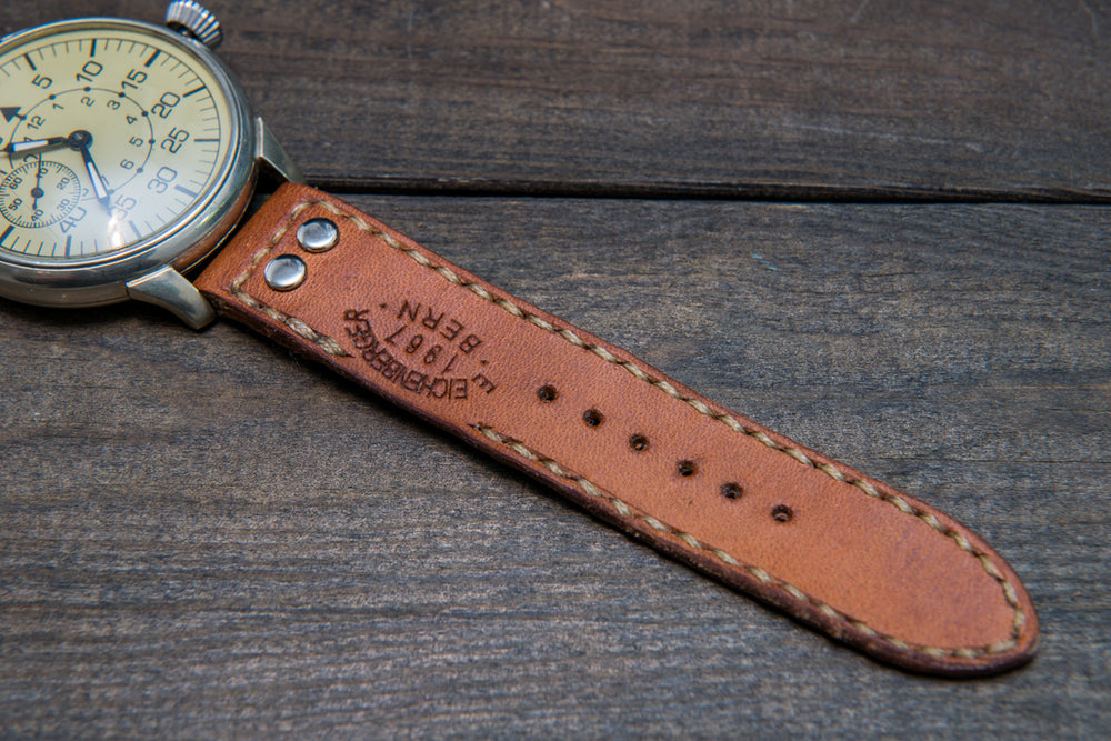 "Vintage Swiss ""Ammo"" Watch band, dates back to 1930th-1960th - finwatchstraps"
