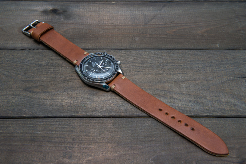 Vachetta leather watch strap, Vachetta Tan, 10-26 mm