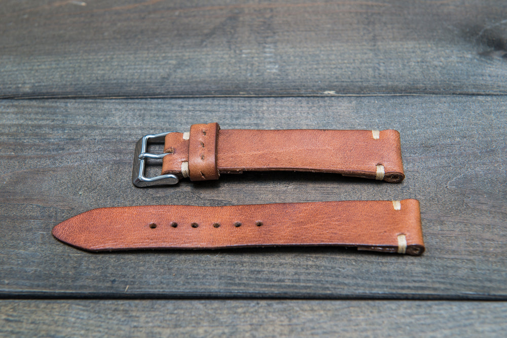 Vintage Ammo Watch band, thickness 2-2,5 mm, made from ammo pouch dates back to 1950th-1960th - finwatchstraps