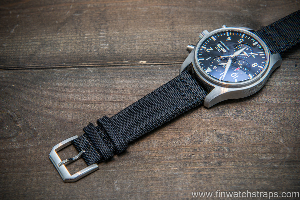 Canvas watch strap for IWC watch - finwatchstraps