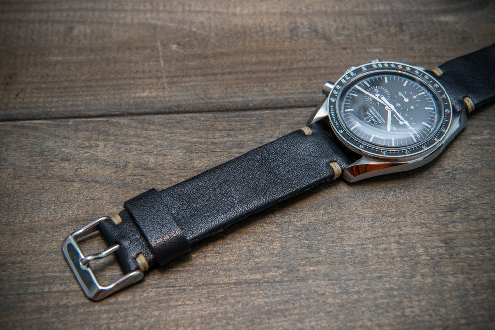 Buttero leather watch strap. Hand-made to order in Finland. 10-26 mm - finwatchstraps