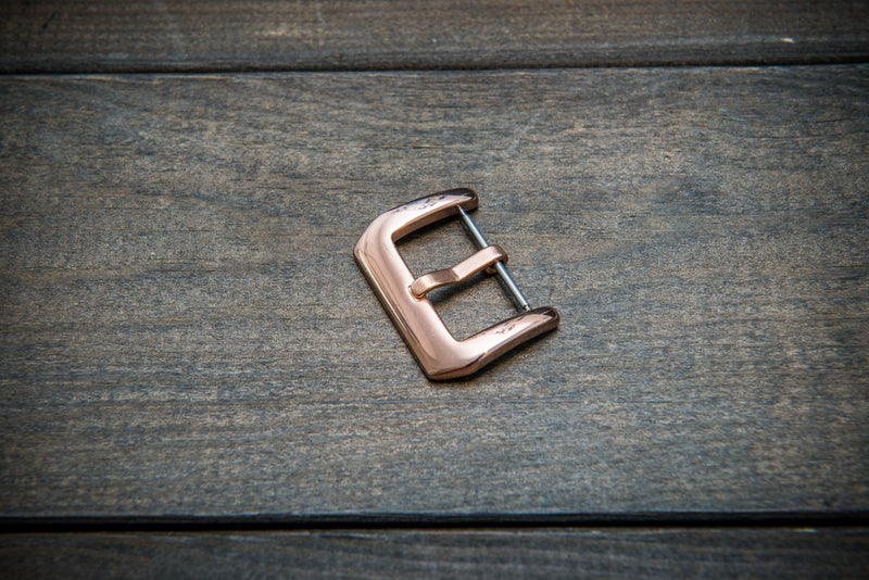 Panerai buckle stainless steel (rose gold) 20mm, 22 mm, 24 mm.