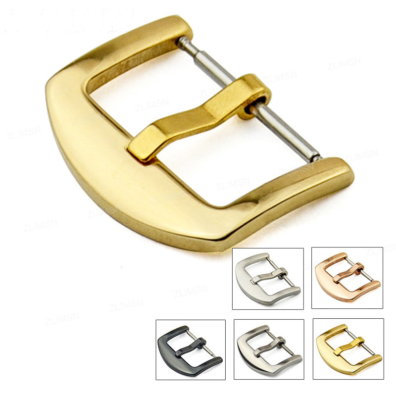 Stainless steel buckle (black, silver, rose gold, gold) - finwatchstraps